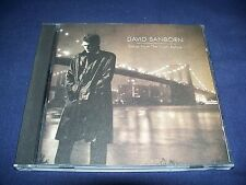 Songs from the Night Before - David Sanborn (CD 1996) NRMT CD FREE Shipping