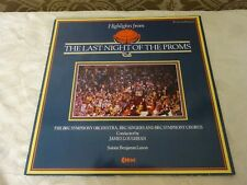 The Last Night of The Proms 82 BBC Symphony Orchestra  Record Vinyl LP Album