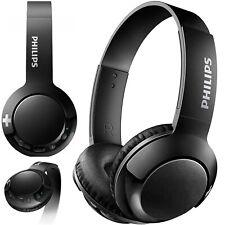 CUFFIE WIRELESS PHILIPS NERE BASS + ON EAR BLUETOOTH SENZA CAVI SHB3075BK/00