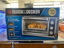 Convection 6-Slice Countertop Toaster Oven BLACK+DECKER Stainless Steel NEW