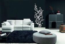 Floral design 301 vinyl wall decal