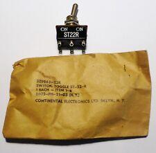 Push switch levier goutte 2RT 6A - Militaire US NOS NIB -