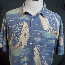 True Vintage 90's Polo Ralph Lauren Regatta,Sailing ,Sail Boat,Polo Shirt Xl,Usa