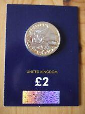 El capitán James Cook £ 2 moneda 2020 uncirculated brillante en tarjeta.