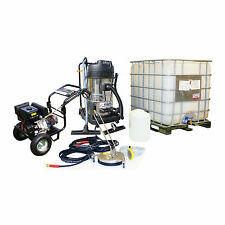 £17 / WEEK on LEASE Business Pack Petrol Pressure Washer Driveway Gutter Clean