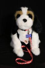 Boyds Bears Puppy Dog Plush Toy Doll w/ Collar & Leash #690007SM NWT