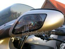 Negro intermitente luz delantera HONDA CBR1100 CBR 1100XX Smoked Front SIGNALS