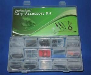 Professional Carp Fishing Tackle Box Bundle,lead clips,  angling