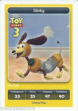 Figurina Esselunga Disney Pixar. Toy Story 3. Slinky n° 4/144 NUOVA