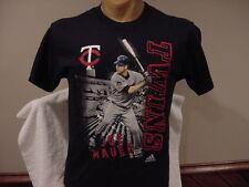 SWEET Minnesota Twins Joe Mauer Youth Sz Lg Adidas T-Shirt, NEW&NICE!!