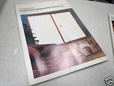 LE NOUVEAU JOURNAL DE CHARPENTE MENUISERIE PARQUETS N° 1 janvier 1974 H VIAL *