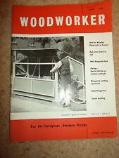 Woodworker June 1961 ~ Retro Vintage Illustrated Magazine + Advertising