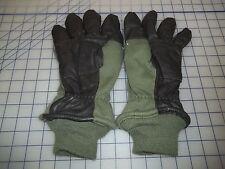 flight size 8 intermediate cold weather glove leather military flyers HAU-15/P