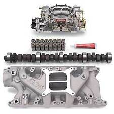 Edelbrock 2121PK Performer Power Package; Intake Manifold, Carburetor and Cams
