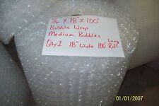 "5/16"" WP Medium Bubble Cushioning Wrap Padding Roll 100 x 18"" Wide 100FT Perf 12"