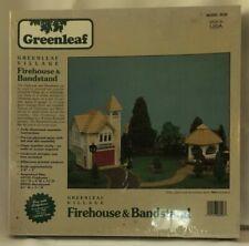 1990 Art Activity Greenleaf 8026 Firehouse & Bandstand Kit