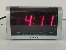 Timex Led Alarm Clock Radio Model T256