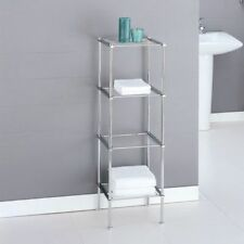 Ordinaire Neu Home Metro Collection 4 Tier Shelf, Chrome, Open Box