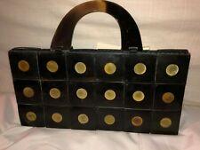 New Ten Thousand Villages Buffalo Horn Domino Evening Bag Made in Vietnam