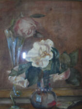 Small (up to 12in.) Impressionism Floral Art Paintings