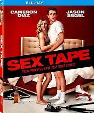 SEX TAPE // CAMERON DIAZ, ROB LOWE, JASON SEGEL, USED BLU RAY