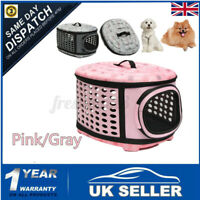 Large Pet Dog Cat Puppy Travel Carry Carrier Tote Cage Bag Crates Kennel  -