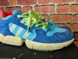 Adidas ZX Torsion Boost Size 9.5 Blue Green Red Good Condition