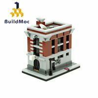 MOC-10967 Firehouse Headquarters Ghostbusters Building Blocks Set Toys Bricks