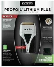 Andis profoil Lithium Plus Titanium Foil Shaver 17200 Masculino Sem Fio Barber desaparece