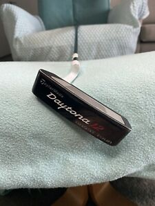 TaylorMade Daytona 12 Ghost Tour Blade Putter 35 Inch Left Handed