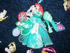 Disney Ariel Shoe - Mouse Hat - Gown Figurine Ornament