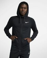 Men's Nike Dri-Fit Full Zip Training Hoodie 860465-010 Black