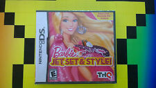 BRAND NEW NES NINTENDO DS GAMEBOY BARBIE JET  SET AND STYLE VIDEO GAME  3DS