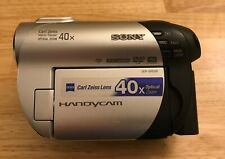 Sony DCR-DVD108 Handycam Camcorder ~ Tested, Works!