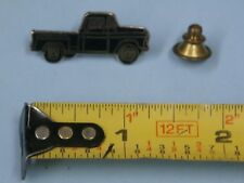 1955-57 Chevrolet Truck vintage hat pin lapel pin tie tac collector button Black