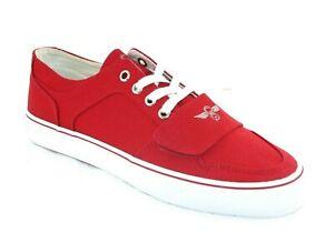 MEN'S Creative Recreation Cesario Lo XVI RED Canvas Shoes VCR4LOC/RED