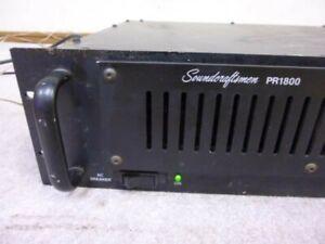 Soundcraftsmen PR1800 Amplifier