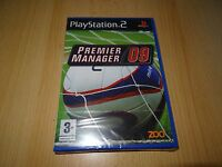 Premier Manager 09 - PlayStation 2 PS2 - New & Sealed pal version