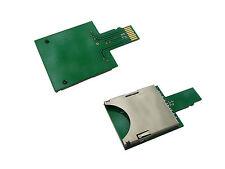 Adaptateur carte SD vers microSD - Compact - Compatible SD SDHC SDXC