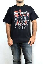 Tokio Hotel Welcome to humanoid city live tour 2010 Fruit of the Loom w/dates XL