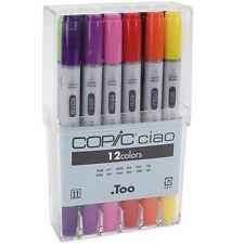 Copic CIAO Plumas 12 Básico/main Color Set-manga Artes Gráficas-Envío rápido