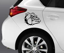 BULLDOG Dog Car Window Bumper Decal Grpahics Art Novelty Sticker Truck Van B52
