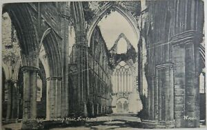 Old Postcard Of The Nave Looking West, Tintern Abbey 1905