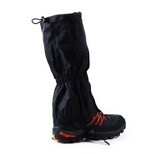 Waterproof Leg Gaiters Hiking Legging Outdoor Snow Climbing Walking Pair Cover