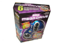 SEGA Mega Drive Classic Mini mit 6 Spielen (Sonic, Flicky, Golden Axe..) - NEU