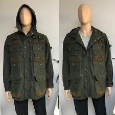 Barbour MILITARY YOSHIDA TOKITO TO KI TO Jacket Coat Olive Waxed Wax Large L 40