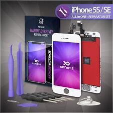 Display LCD für iPhone 5S / SE mit RETINA Scheibe Bildschirm Touchscreen WEISS