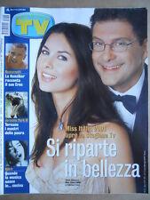 TV Sorrisi e Canzoni n°36 2001 Tania Zamparo Eros Ramazzotti M. Hunziker [D37]