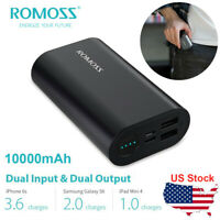 ROMOSS SE10 10000mAh USB C Fast Charge Power Bank with 2 Port 2.4A Max Output