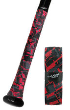 Red Sizzle Camo Vulcan Bat Grip Keeps Your Bat From Slipping Out of Your Hands